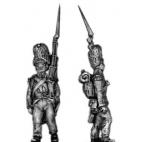 Grenadier, (bearskin) march attack