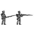Light infantry fusilier, skirmishing
