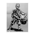 Zouave Drummer in kepi