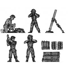 4.2-inch mortar team