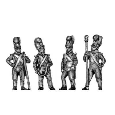 Foot artilleryman, firing