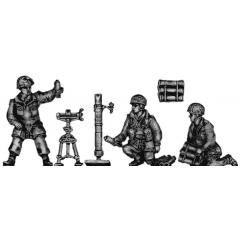 Airborne 3in mortar team