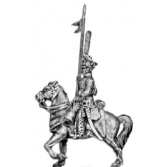 Hussar, front rank with lance