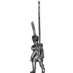 Guard infantry standard bearer, shako