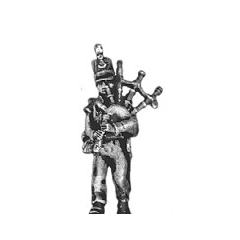 Light infantry piper, for Highland regiments