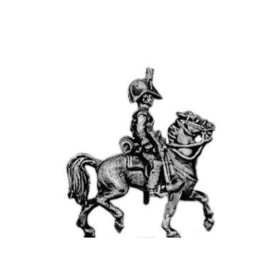 Dragoon, cocked hat, sword sheathed
