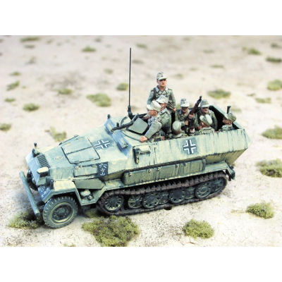 German DAK Panzer Grenadiers for SdKfz (halftrack)