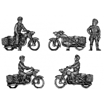 Motorcyclists / dispatch riders