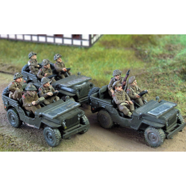 British infantry for jeeps