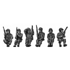 Armoured infantry seated set 1