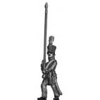 Chasseur / Jaeger, standard bearer