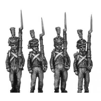 Orange Nassau 28th Regiment, marching