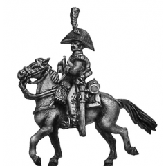Dutch Carabinier trumpeter, in bicorne