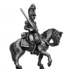 Belgian Carabinier officer, in helmet