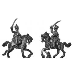 Hussars, charging