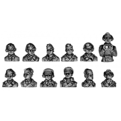 German Panzertruppen hatch crew