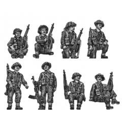 British Infantry tank riders – Set 1