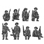 British Infantry tank riders – Set 1