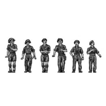 British RTR Full figure crew