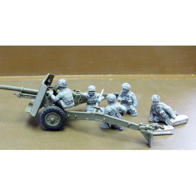 British Airborne 17pdr crew