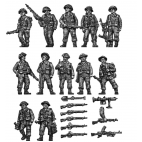 Infantry secion walking