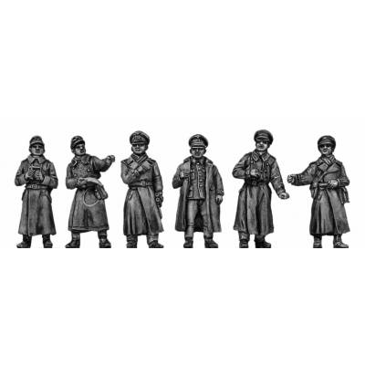 German Officers - greatcoat
