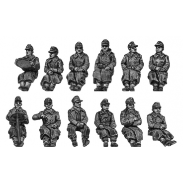 German seated Infantry - greatcoat