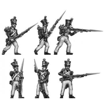 Grenadiers, firing line