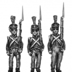 Orange Nassau 28th Reg. Flank company, marching