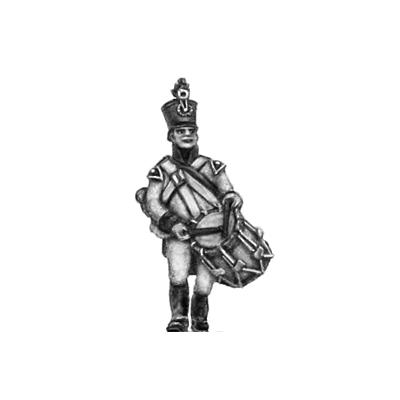 German fusilier drummer, shako