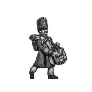 Chasseur of the Guard drummer, greatcoat