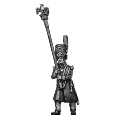 Grenadier of the Guard eagle bearer, greatcoat