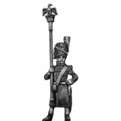 Chasseur of the Guard eagle bearer, greatcoat