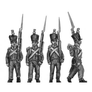 2nd Nassau- Usingen Fusilier, March attack