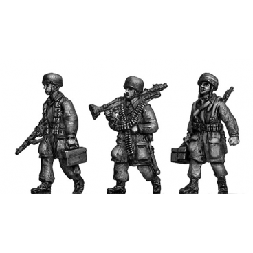 Fallschirmjager HMG advancing
