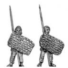 Levy spearman, spear upright