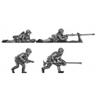 Helmets, PTRD A/T rifles set