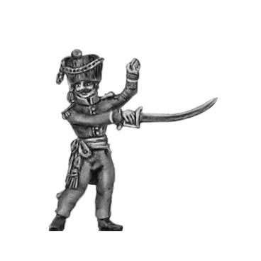2nd Nassau- Usingen Grenadier, Officer