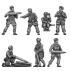Fallschirmjager crew for 8.87cm flak gun
