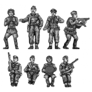 Soviet scouts for White Scout Card