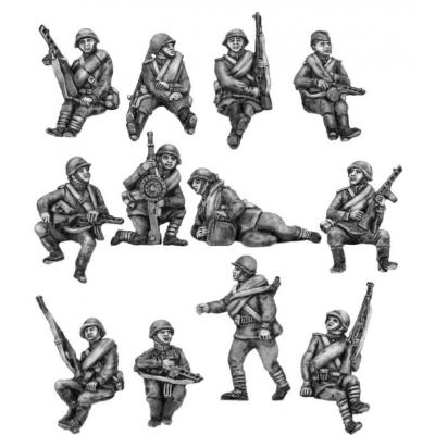 Infantry Tank Riders - Set 2