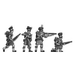 Highland flank company skirmishing