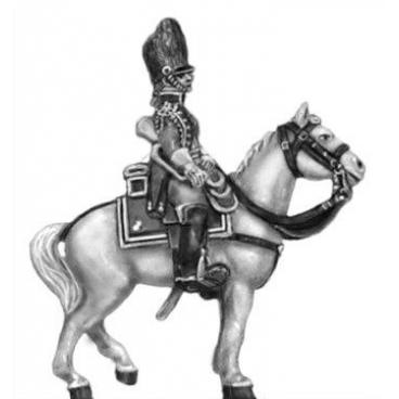 Gendarme d'elite trumpeter