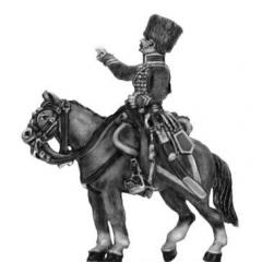 Chasseur a cheval de la garde (later uniform) Officer