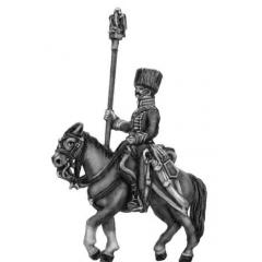 Chasseur a cheval de la garde (later uniform) Eagle Bearer