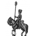 Chasseur a cheval de la garde (later uniform) Eagle Bearer