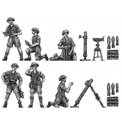 "Western Desert Force 3"" mortar"
