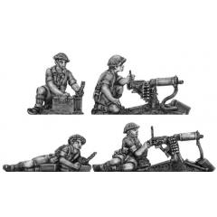 Western Desert Force Vickers HMG teams