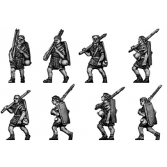 Legionary in marching order