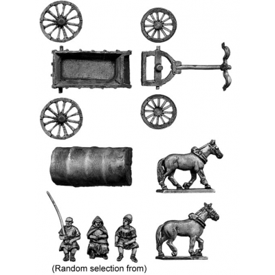 Baggage wagon 1 Load B